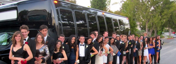 Laguna Beach Prom Party Bus